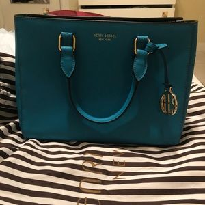 Amazing teal Henri Bendel bag In great condition!